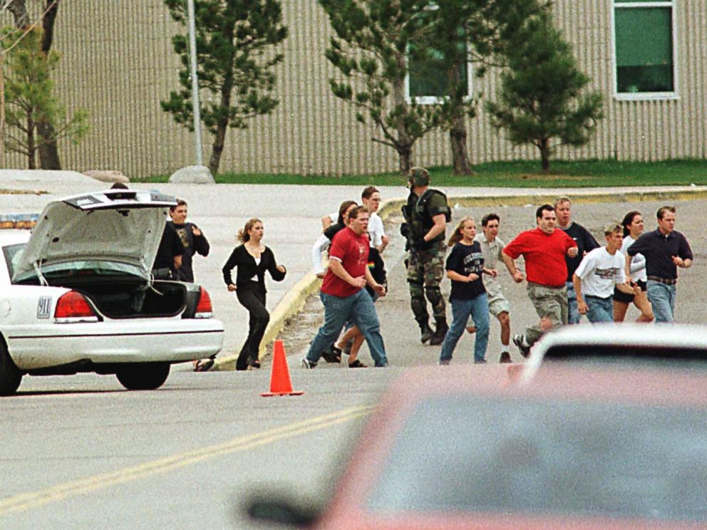 an analysis of a killing massacre in a high school Where'd they get their guns an analysis of the firearms  the luby's massacre marked the beginning of a decade that would leave  high school youths.