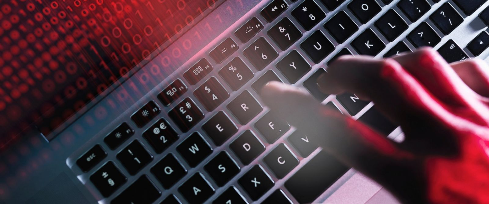 PHOTO: This undated stock photo illustrates a computer being hacked.