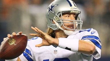 PHOTO: Kyle Orton of the Dallas Cowboys is pictured on Dec. 29, 2013 in Arlington, Texas.