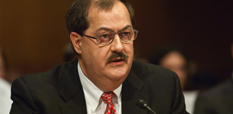 Photo don blankenship chairman and ceo of massey energy co appears