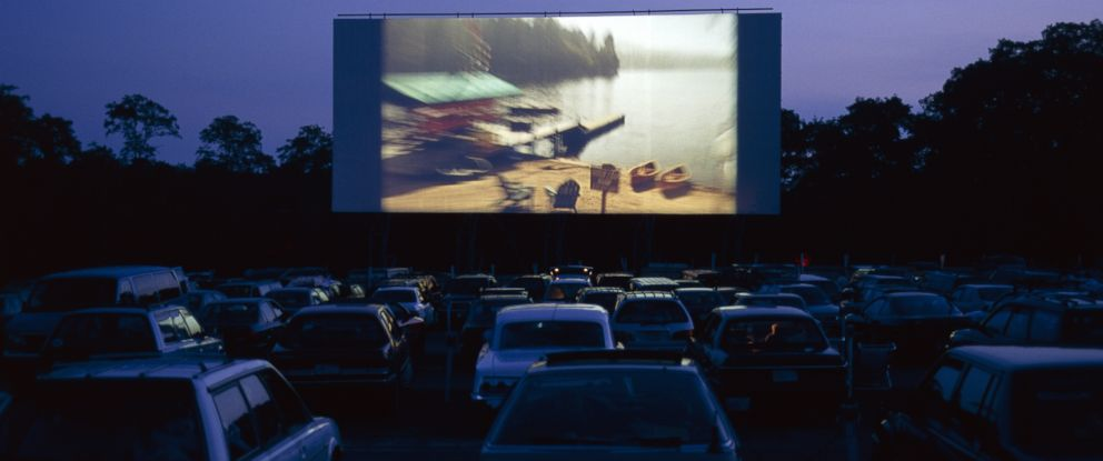 PHOTO: Cars are parked at a drive-in movie in this undated file photo.