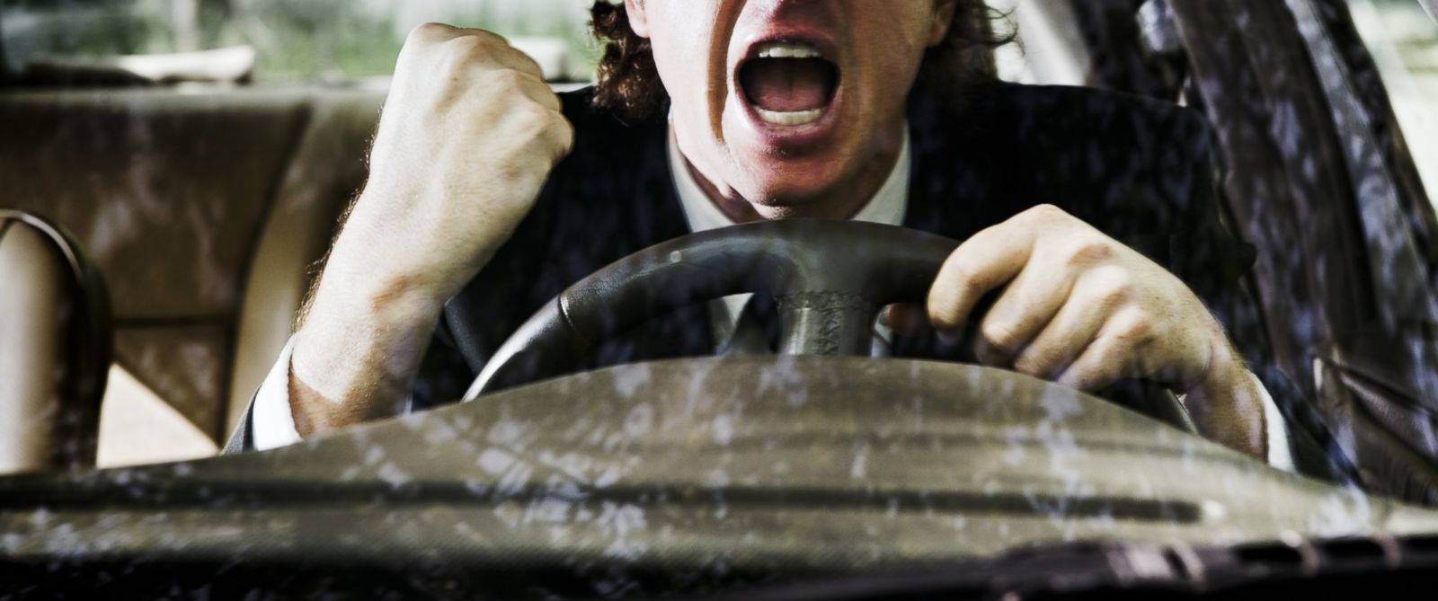 PHOTO:According to Virginia Tech Transportation Institute researchers, drivers increase their crash risk when they get behind the wheel while observably angry, sad, crying, or emotionally agitated.