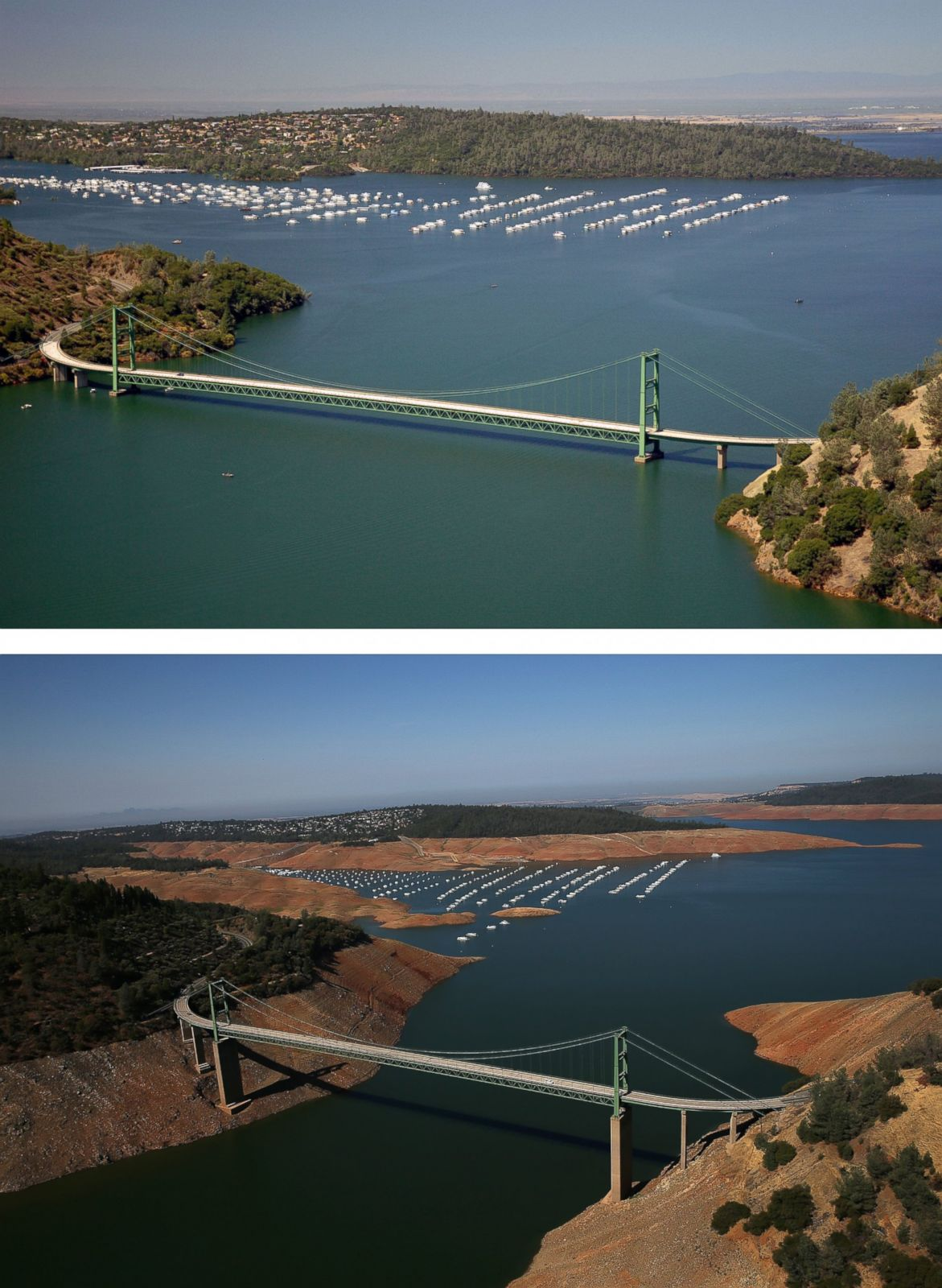 Lake Isabella Before And After