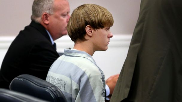 PHOTO: Dylann Roof, the suspect in the mass shooting that left nine dead in a Charleston church last month, appears in court, July 18, 2015, in Charleston, S.C.