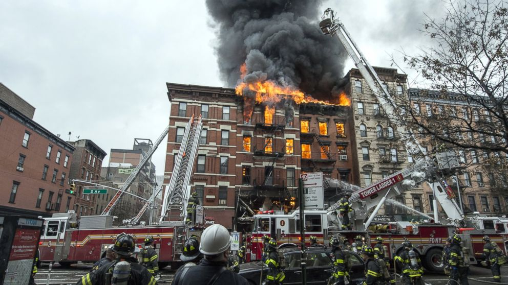 Nyc building on fire