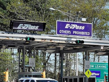 PHOTO: E-Zpass toll lanes are seen here in this May 16, 2013 file photo.