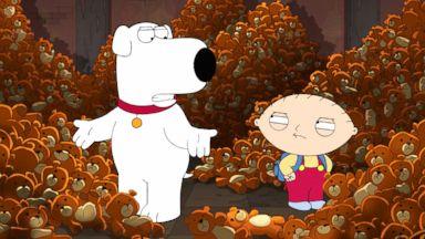 """PHOTO: Scene from FOXs """"Family Guy."""""""