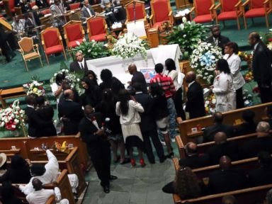 Freddie Gray Funeral Held Amid Alleged Threat to Law Enforcement