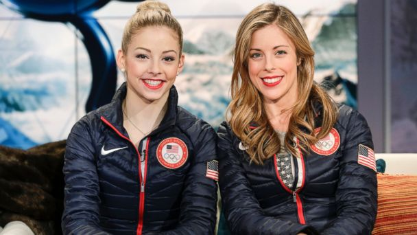 GTY gracie gold ashley wagner jef 140218 16x9 608 Ashley Wagner and Gracie Gold: Meet the Moms Behind Their Success