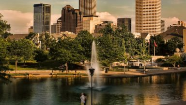 PHOTO: Downtown Indianapolis, Indiana.