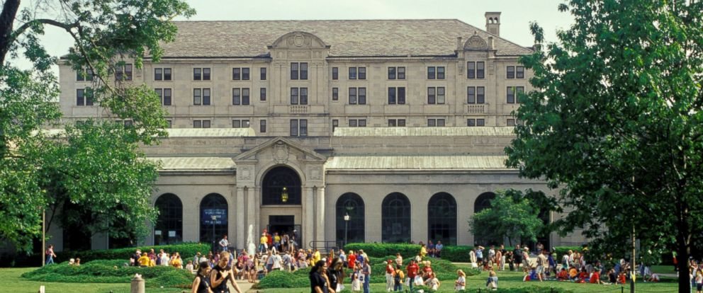 PHOTO: Memorial Union on the Iowa State University campus is shown in this undated file photo.