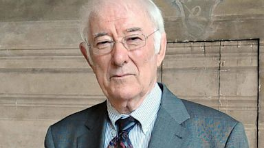 PHOTO: Irish author Seamus Heaney