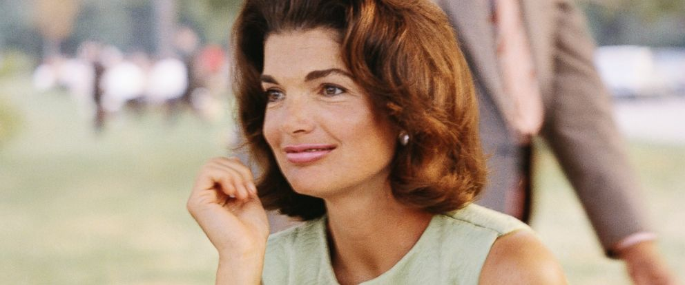 PHOTO: Former First Lady Jacqueline Kennedy enjoys herself at a picnic circa the 1960s.