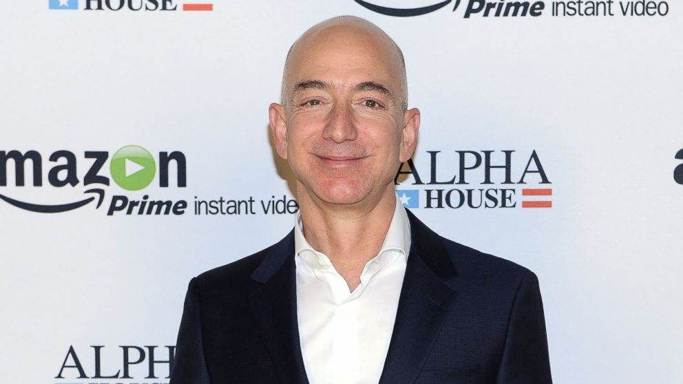 "PHOTO: Amazon.com founder and CEO Jeff Bezos attends Amazon Studios Premiere Screening for ""Alpha House"" on Nov. 11, 2013 in New York City."