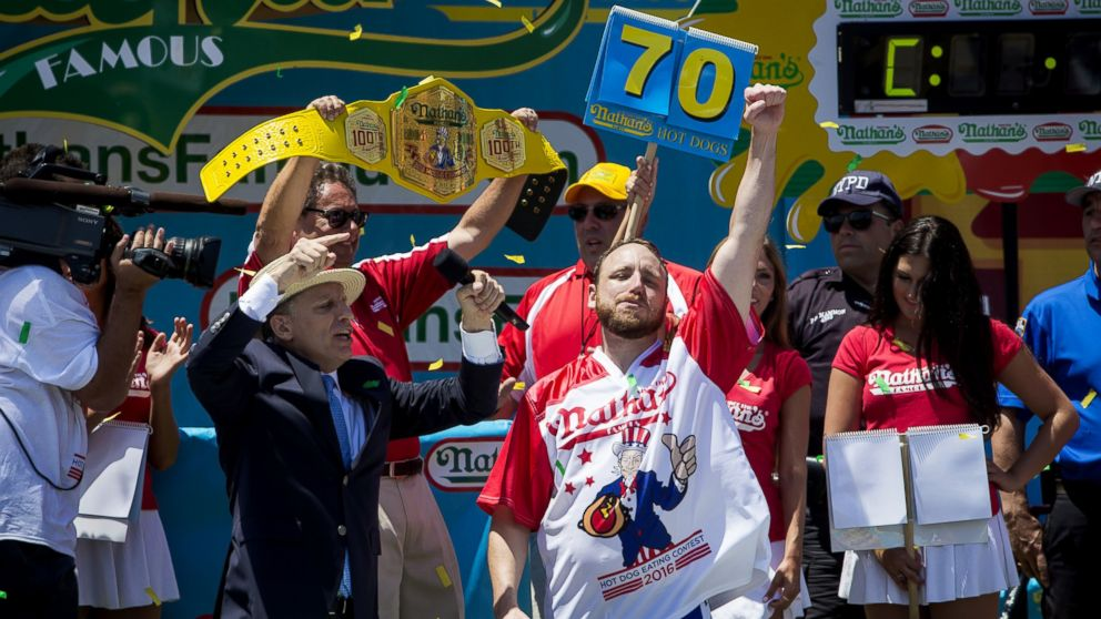 Joey Chestnut Regains Championship in Hot Dog Eating Contest