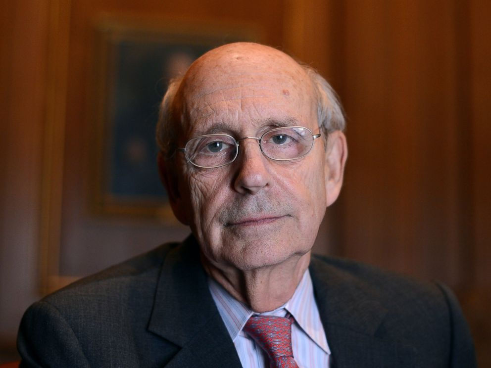 PHOTO: Supreme Court Justice Stephen Breyer.