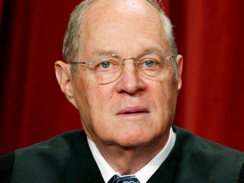 PHOTO: Supreme Court Justice Anthony M. Kennedy.