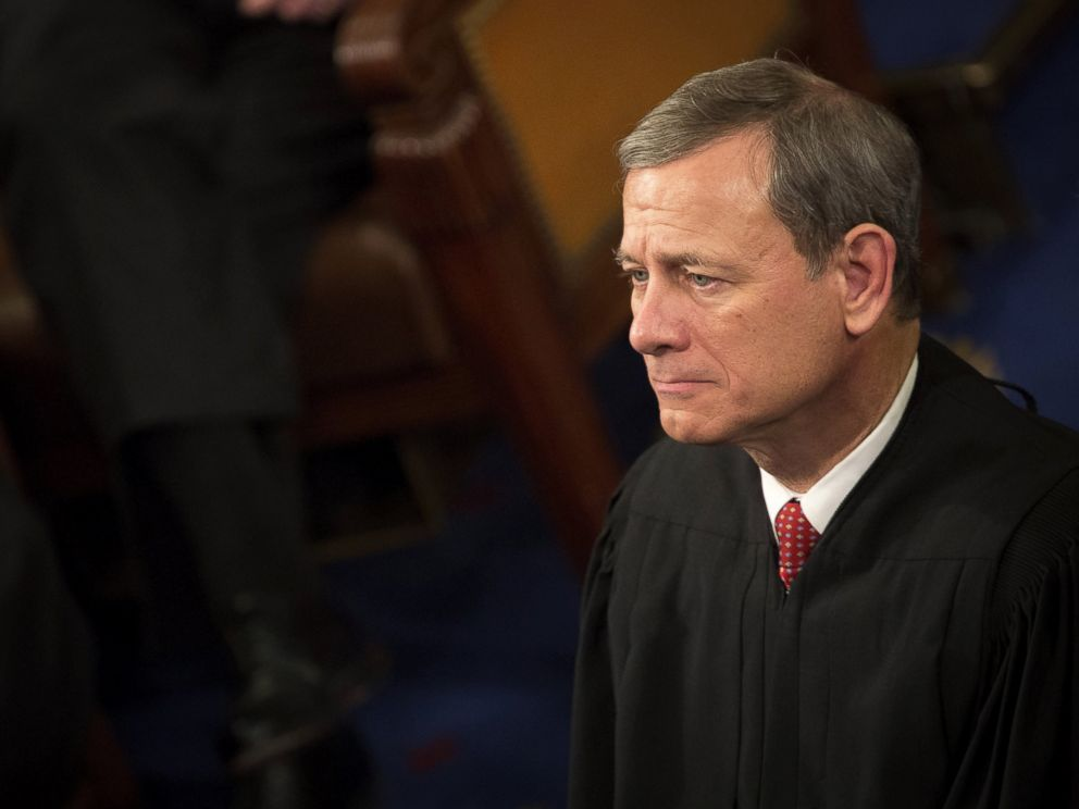 PHOTO: Supreme Court Justice John Roberts.