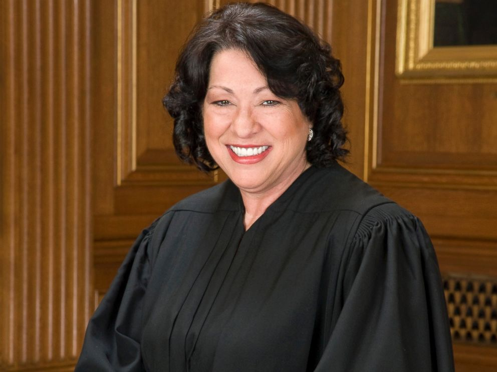PHOTO: Supreme Court Justice Sonia Sotomayor.