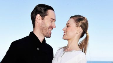 PHOTO: Michael Polish and Kate Bosworth attend the 2013 Catalina Film Festival, Sept. 21, 2013 in Catalina Island, Calif.