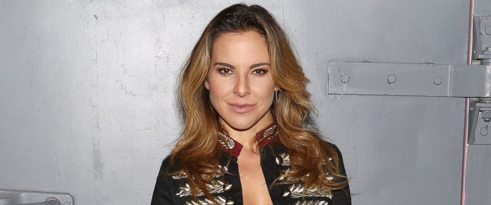 "PHOTO: Kate del Castillo is seen on the set of ""Despierta America"" at Univision Studios, Oct. 26, 2015 in Miami."