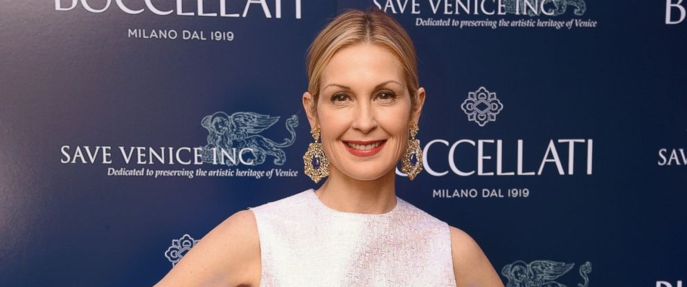 PHOTO: Kelly Rutherford attends Timeless Blue, Buccellati New York Flagship Opening Celebration on March 12, 2015 in New York City.