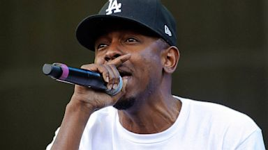 PHOTO: Kendrick Lamar performs during Lollapalooza in Chicago