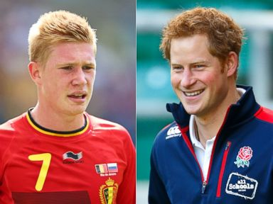 Is That Prince Harry Playing Against US Soccer Team?