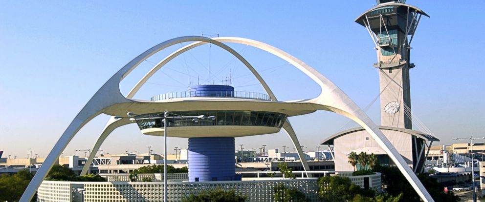 PHOTO: LAX airport in Los Angeles, California