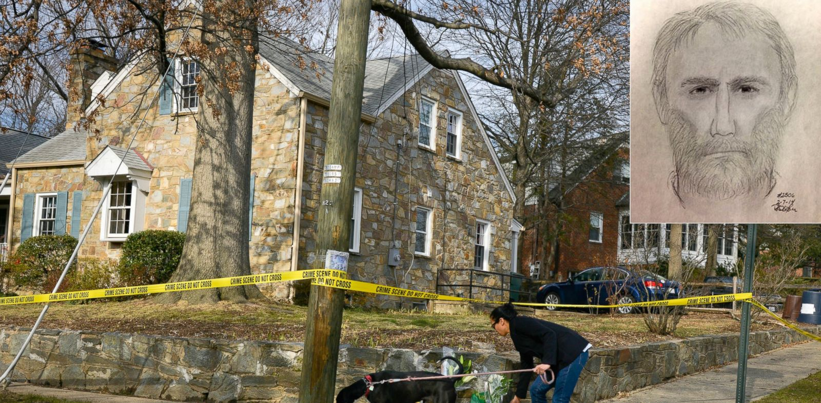 PHOTO: People leave flowers and piano instruction manuals outside the home of Ruthanne Lodato, Feb. 7, 2014, in Alexandria, Va.