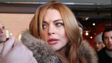 PHOTO: Lindsay Lohan is seen at the 2014 Sundance Film Festival on the streets of Park City, Utah, Jan. 20, 2014.