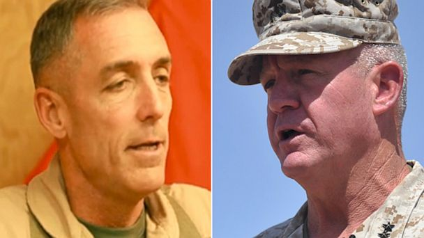 GTY marine generals lpl 130930 16x9 608 Two Marine Generals Asked to Retire for 2012 Attack in Afghanistan