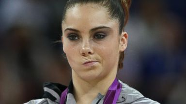 PHOTO: McKayla Maroney poses with her silver medal at the Olympic Games in London, Aug. 5, 2012.
