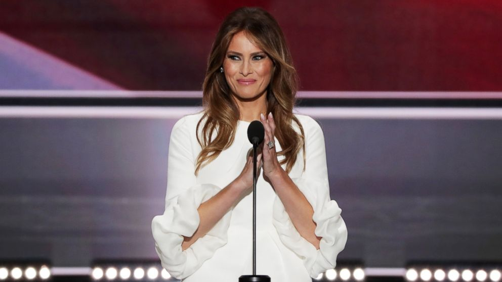 Melania Trump to Deliver Her First Campaign Speech – The ...
