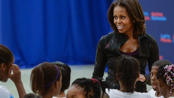 GTY michelle obama lpl 131027 16x9 608 Michelle Obama to Give Keynote Speech at Disneys 1st Veterans Institute Event