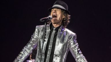 PHOTO: Mick Jagger from The Rolling Stones performs live on stage at The O2 Arena in London, Nov. 29, 2012.