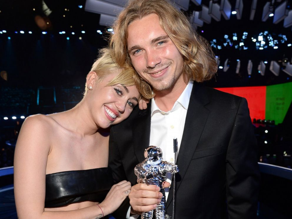 PHOTO: Miley Cyrus and Jesse attend the 2014 MTV Video Music Awards at The Forum, Aug. 24, 2014 in Inglewood, Calif.