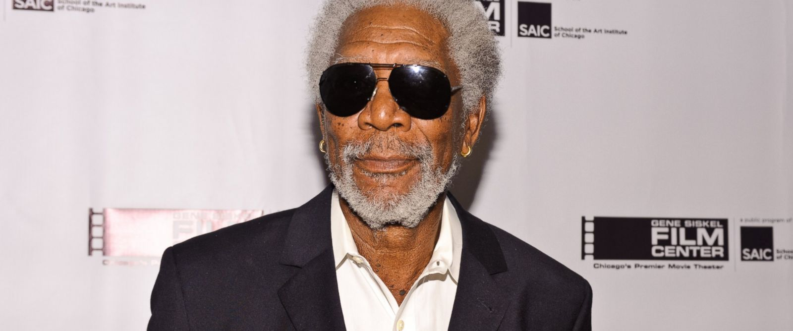 PHOTO: Morgan Freeman is honored by the Gene Siskel Film Center at the Ritz Carlton on June 7, 2014 in Chicago.