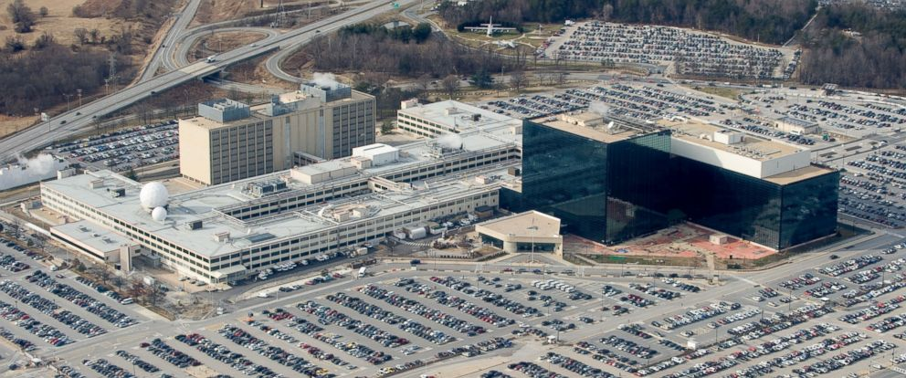 PHOTO: The National Security Agency (NSA) headquarters at Fort Meade, Maryland.