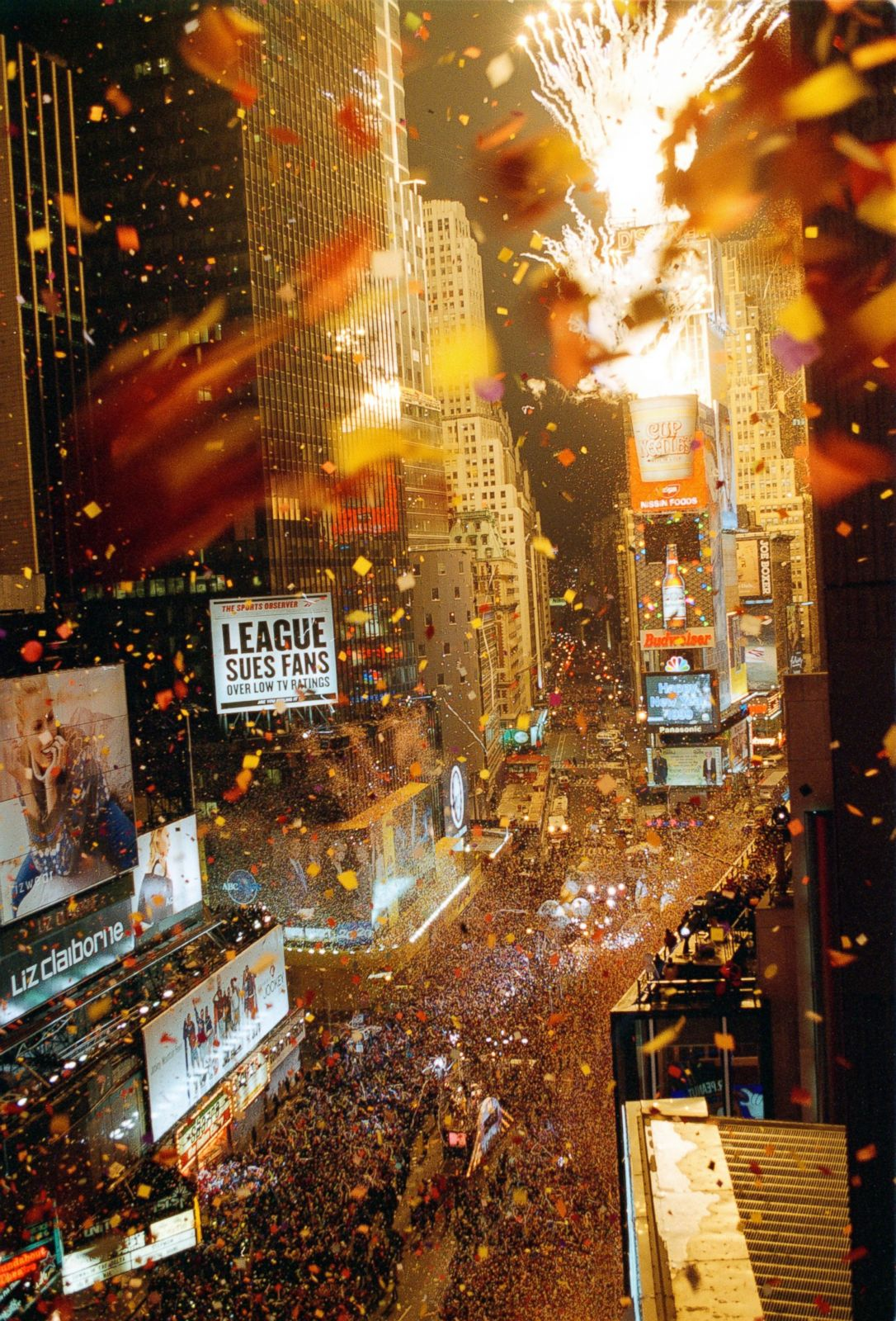 Times Square New Year S Eve Through The Years Photos