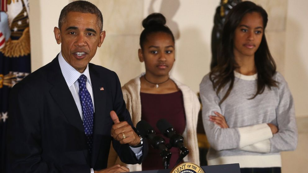 Scolding Obama Daughters Obama Daughters 2014