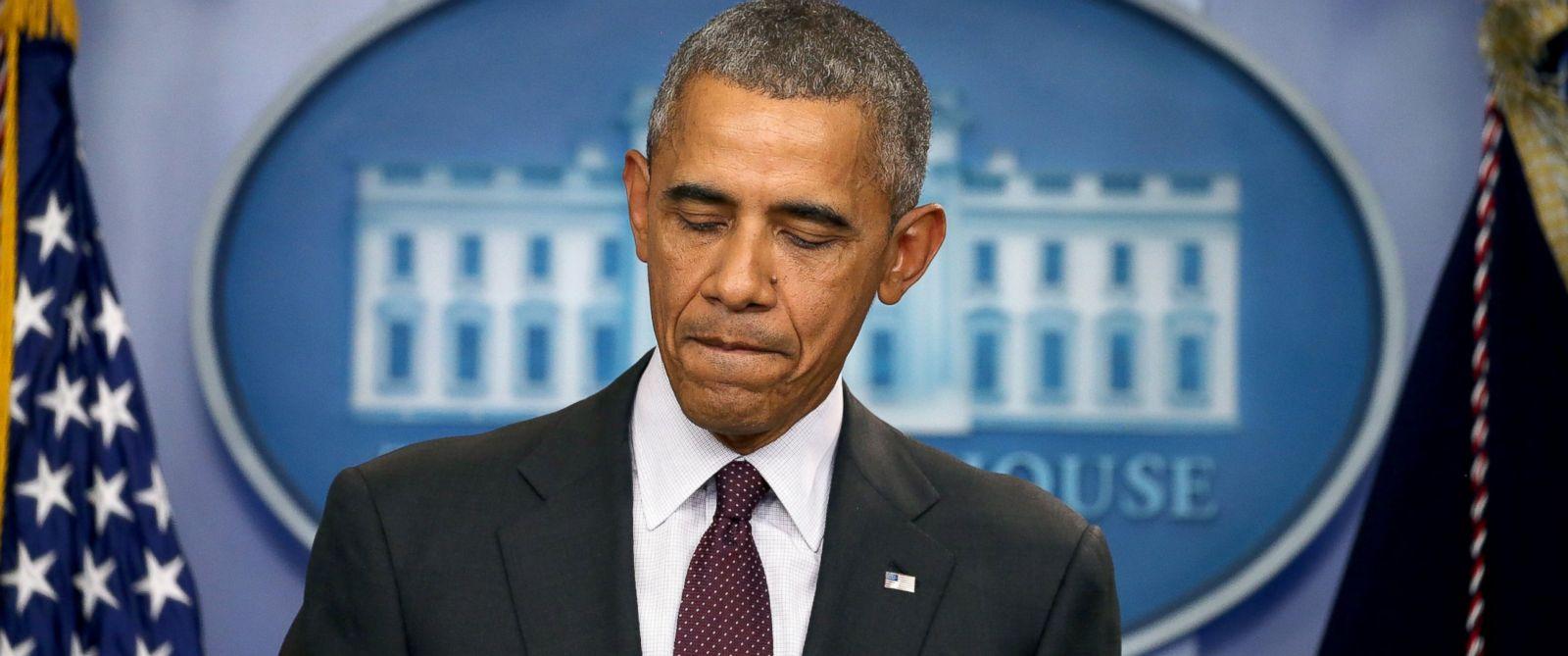 PHOTO: President Barack Obama speaks at a press conference, Oct. 1, 2015, in Washington.