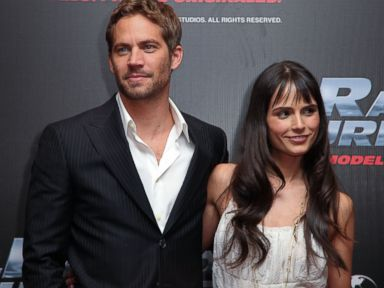 PHOTO: Paul Walker and Jordana Brewster attend the Fast & Furious photo call