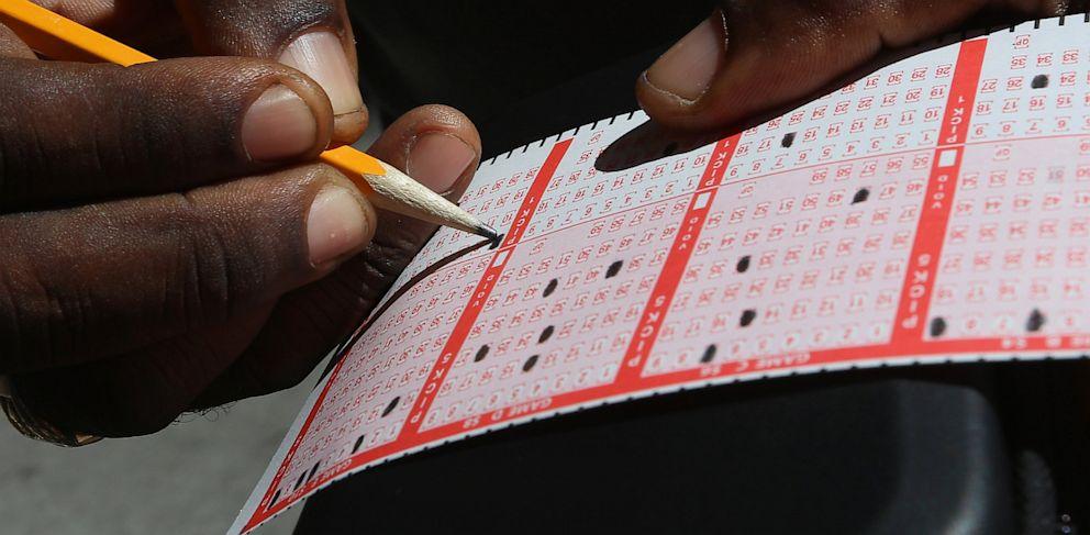 PHOTO: Powerball tickets