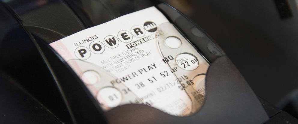 PHOTO: A Powerball lottery ticket is printed for a customer at a 7-Eleven store in this Feb. 11, 2015 file photo in Chicago.