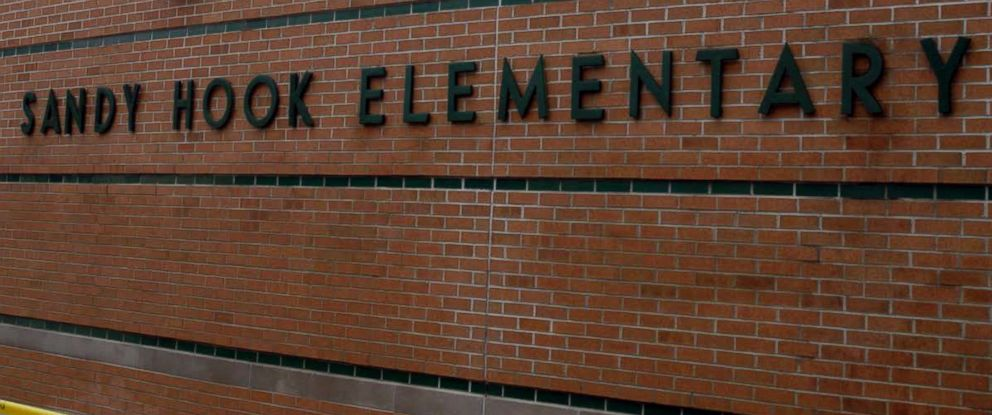 PHOTO: The exterior of the Sandy Hook Elementary School following the Dec. 14, 2012 shooting rampage, is seen in this undated handout photo.