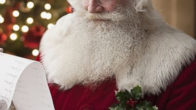 PHOTO: Santa is pictured in this stock photo.