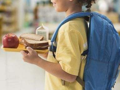 PHOTO: A child is pictured in a school cafeteria in this stock image.