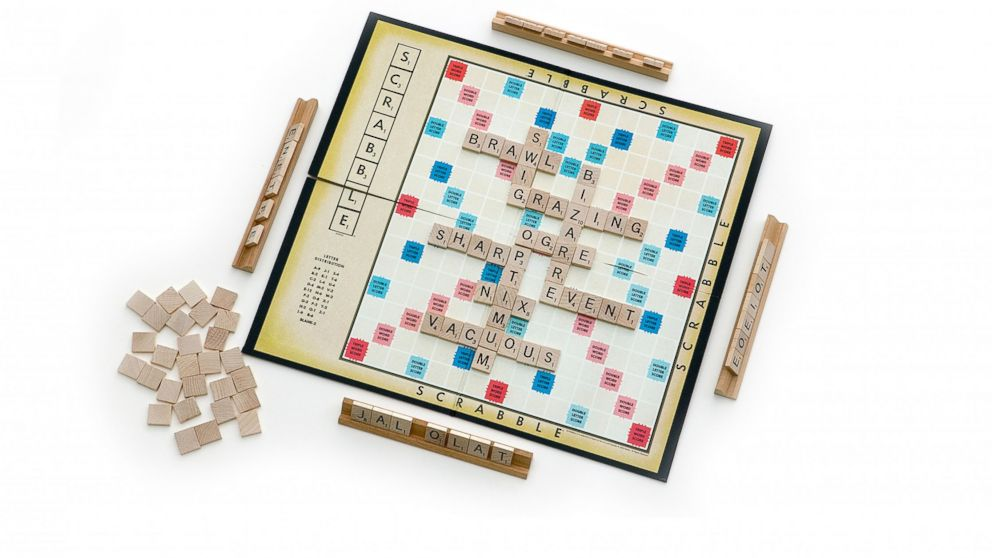 PHOTO: Hasbros Scrabble board game is seen Jan. 9, 2008.