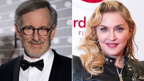 GTY spielberg madonna lottery jtm 131217 16x9 608 Celebrities Youd Out Earn If You Hit the Mega Millions Jackpot
